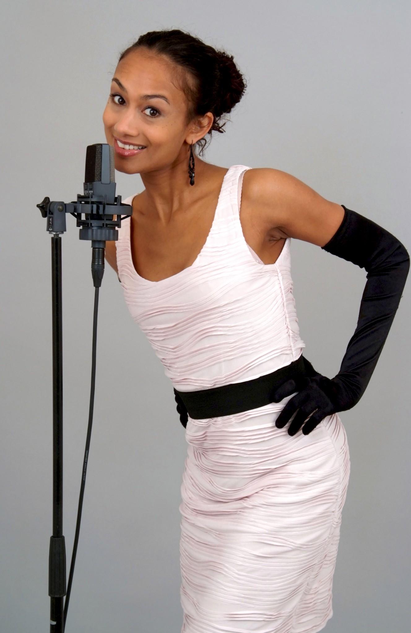 portretfoto zangeres