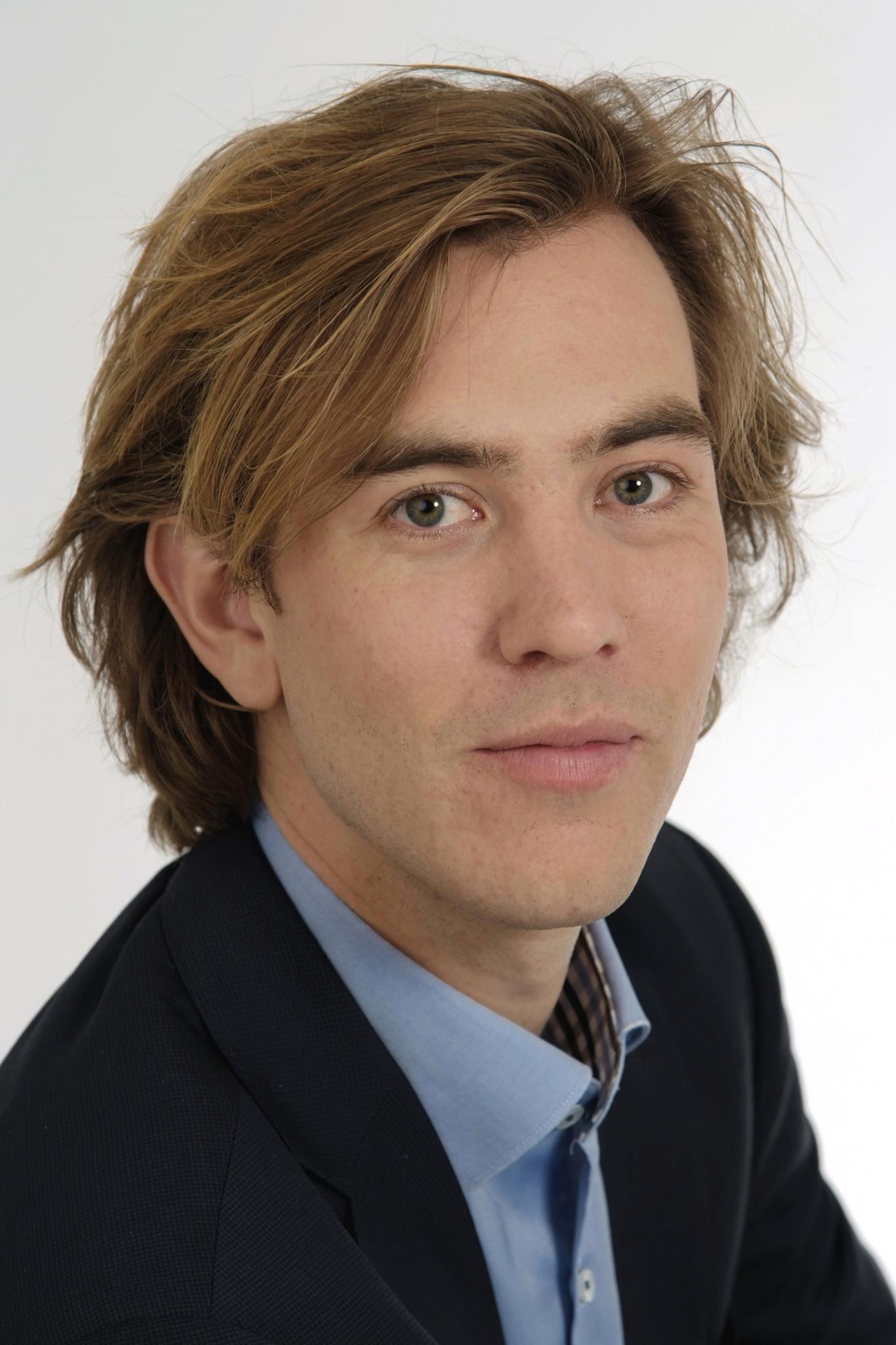auteursportret Pieter Bas